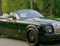 David Beckham et son Rolls Royce Phantom