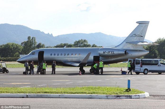 Michael Schumacher  Son Jet Falcon 2000EX Mis En Vente  Luxe  Le Magaz